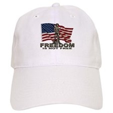 FREEDOM NOT FREE Baseball Cap
