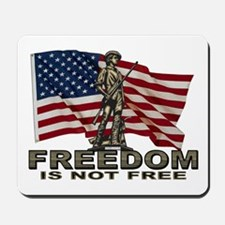 FREEDOM NOT FREE Mousepad