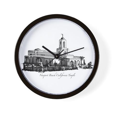 Newport Beach California Temple Wall Clock