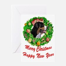 Swissie Christmas Greeting Card