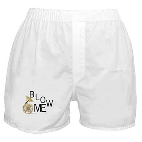 Blow My French Horn! Boxer Shorts