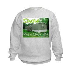 Single With a Single Wide Sweatshirt