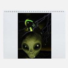 Alien Mothership Wall Calendar