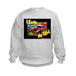 I Love My Yard Kids Sweatshirt