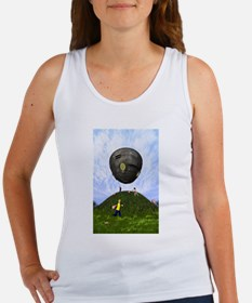 Unique Flying saucers Women's Tank Top