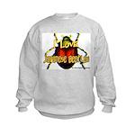 I love Japanese Beetles Kids Sweatshirt
