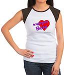 Trailer Park Hussie Women's Cap Sleeve T-Shirt
