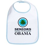 SENIORS FOR OBAMA Bib