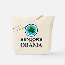 SENIORS FOR OBAMA Tote Bag