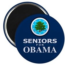 SENIORS FOR OBAMA Magnet