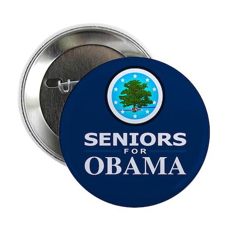 "SENIORS FOR OBAMA 2.25"" Button (10 pack)"