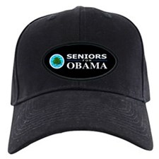 SENIORS FOR OBAMA Baseball Hat