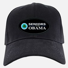 SENIORS FOR OBAMA Baseball Hat