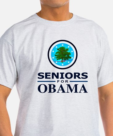 SENIORS FOR OBAMA T-Shirt