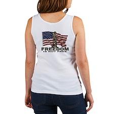 FREEDOM NOT FREE Women's Tank Top