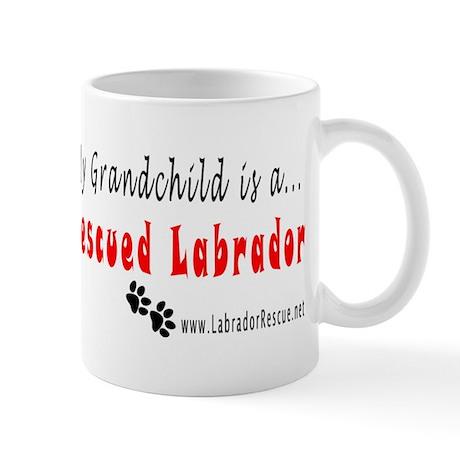 My Grandchild is... Mug