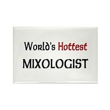 World's Hottest Mixologist Rectangle Magnet