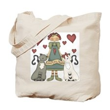Love You Much Tote Bag