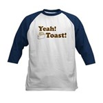 Yeah! Toast! Kids Baseball Jersey