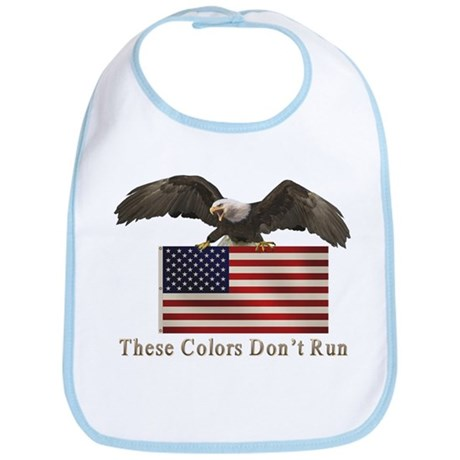 These Colors Don't Run Bib