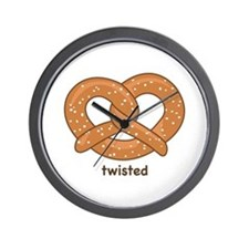 """Twisted"" Wall Clock"