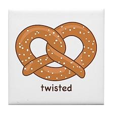 """Twisted"" Tile Coaster"
