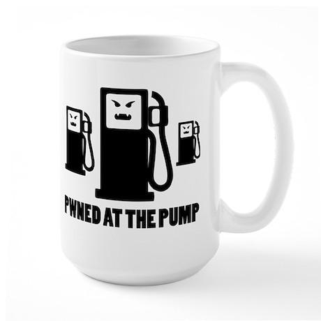 PWNED AT THE PUMP Large Mug
