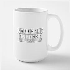 forensic science Large Mug