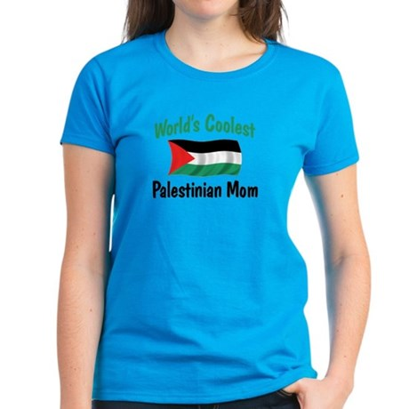 Coolest Palestinian Mom Women's Dark T-Shirt