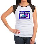 Trailer Woman Women's Cap Sleeve T-Shirt
