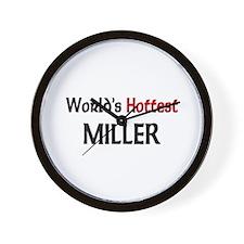 World's Hottest Miller Wall Clock