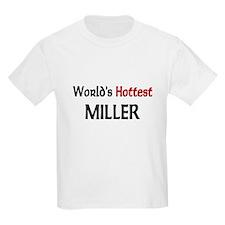 World's Hottest Miller Kids Light T-Shirt