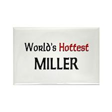 World's Hottest Miller Rectangle Magnet