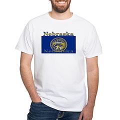 Nebraska State Flag Shirt