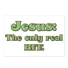 Jesus, the Real BFF Postcards (Package of 8)