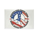 Obama for Peace Rectangle Magnet (10 pack)