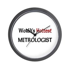 World's Hottest Metrologist Wall Clock
