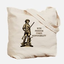 With Freedom(MM) Tote Bag