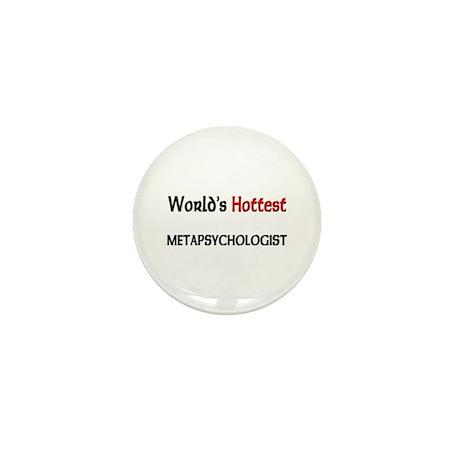 World's Hottest Meteorologist Mini Button
