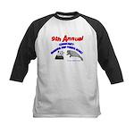 Annual Panda Manatee Roast Kids Baseball Jersey