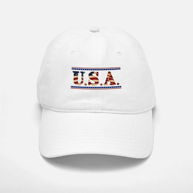 USA Stars/Strips Baseball Baseball Cap