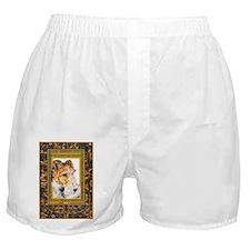 Vintage Fox Terrier Boxer Shorts