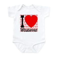 I Love Whatever Infant Bodysuit