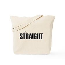 notso straight Tote Bag