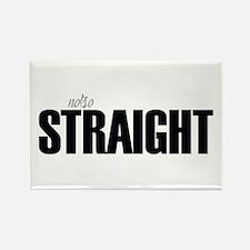 notso straight Rectangle Magnet