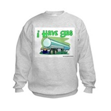 I Have Gas Tanker Driver Sweatshirt