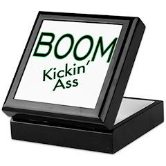 Boom Kickin' Ass Keepsake Box