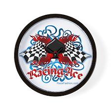 Racing Ace Wall Clock