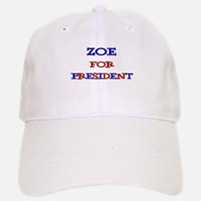 Zoe for President Baseball Baseball Cap