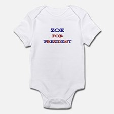 Zoe for President Infant Bodysuit